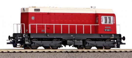 HO, Diesel-Lok  BR107, DR Ep. IV digital, Sound