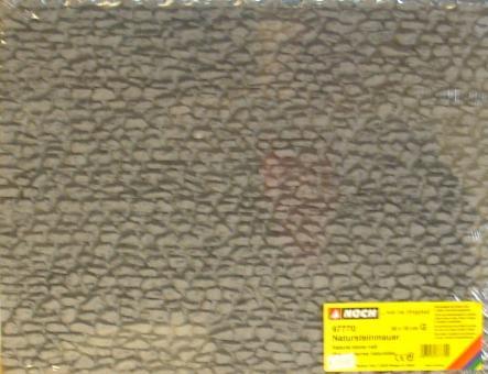 G -  Bruchsteinmauer,   39 x 29 cm
